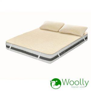 Bontex - coprimaterasso leggero + cuscini_WOOLLY_BASIC