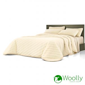 Coperta Woolly Basic Pura lana_con_logo
